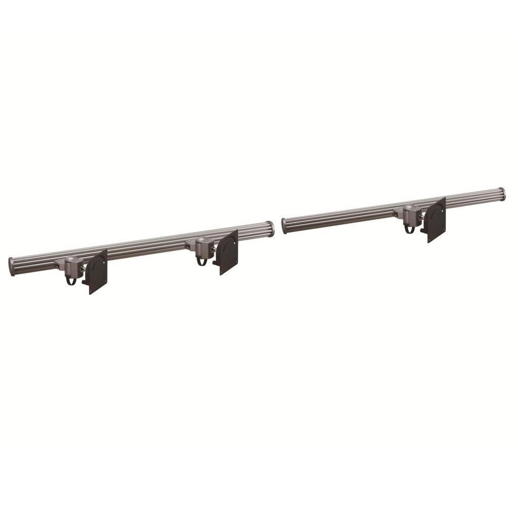 triple monitor wall mount w short arms horizontal