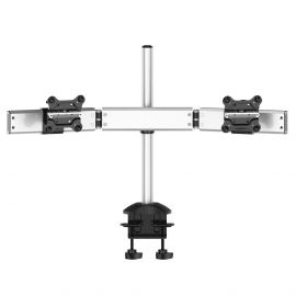 Dual Monitor Desk Mount for Apple Quick Release w/ Low Profile