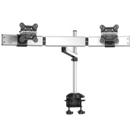 Dual Monitor Desk Mount for Apple Quick Release w/ Single Arm