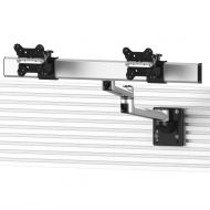 Dual Apple VESA Mount for Slatwall Quick Release w/ Dual Arm