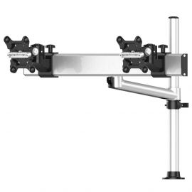 Dual Track Rail Mount for Apple Display w/ Quick Release Single Arm