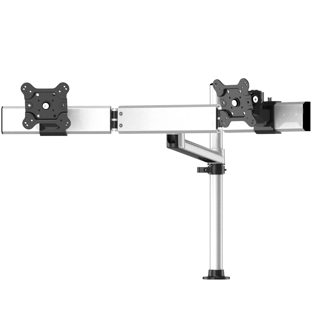 Dual Track Rail Mount for Apple Display Quick Release w/ Single Arm