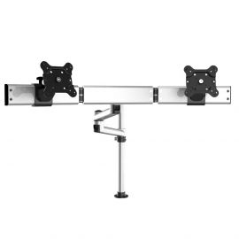 Dual Track Rail Mount for Apple Display Quick Release w/ Dual Arm