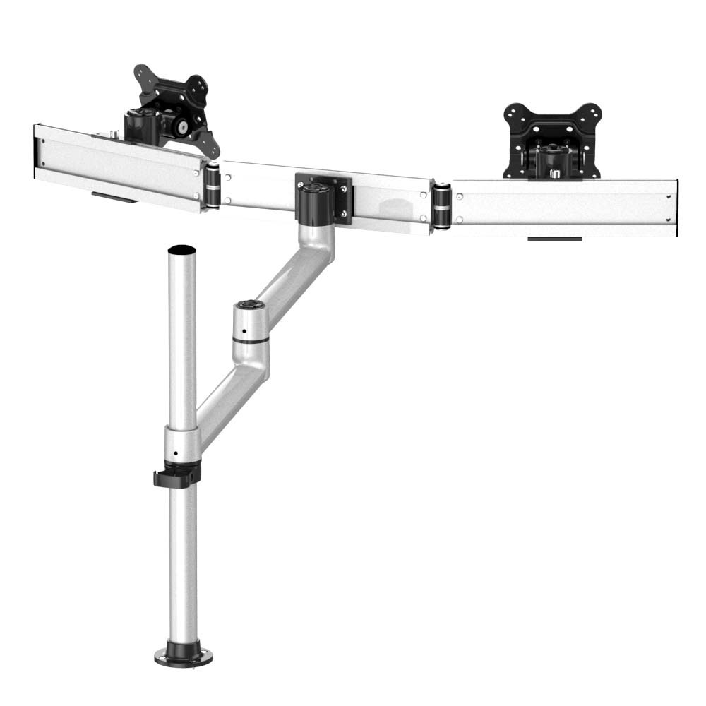 Dual Track Rail Mount For Apple Display Quick Release W