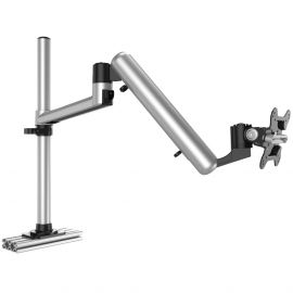 Track Rail Mount for Apple Display w/ Full Motion Spring Arm