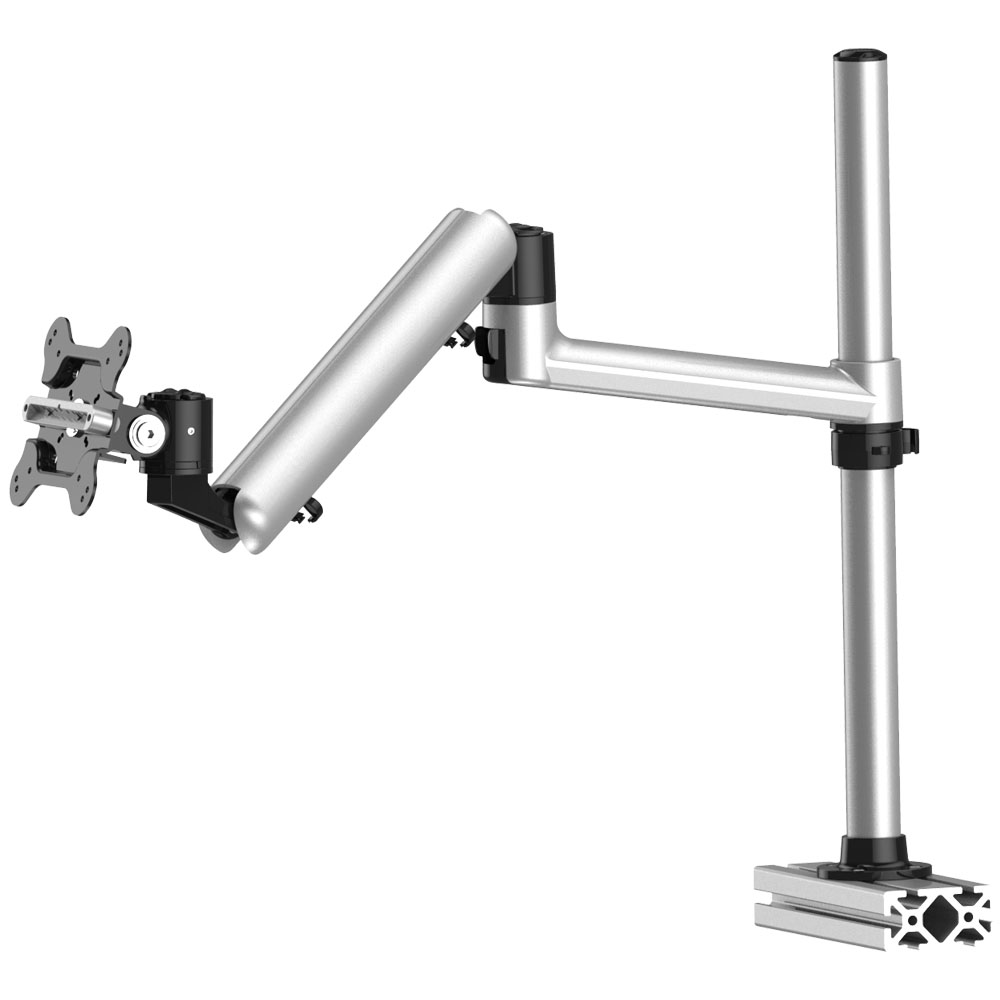 Track Rail Mount For Apple Display W Full Motion Spring Arm