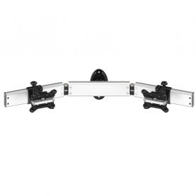 Dual Monitor Wall Mount for Apple w/ Quick Release Low Profile
