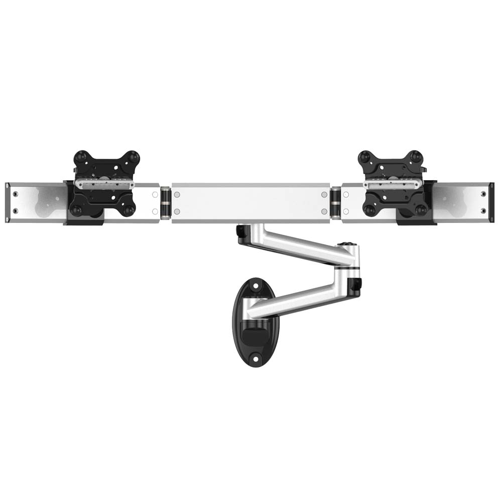 Dual Monitor Wall Mount for Apple w/ Quick Release Dual Arm
