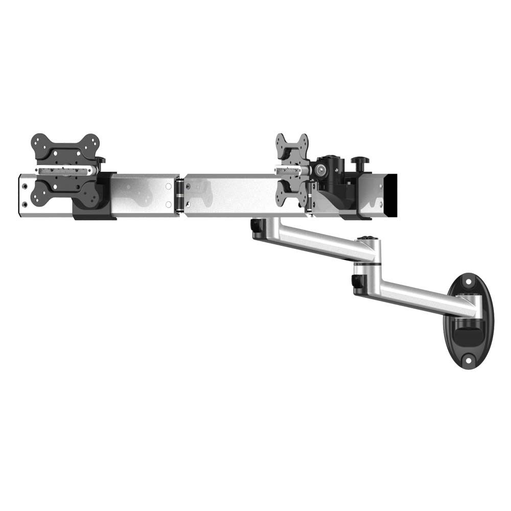 Dual Monitor Wall Mount For Apple W Quick Release Dual Arm