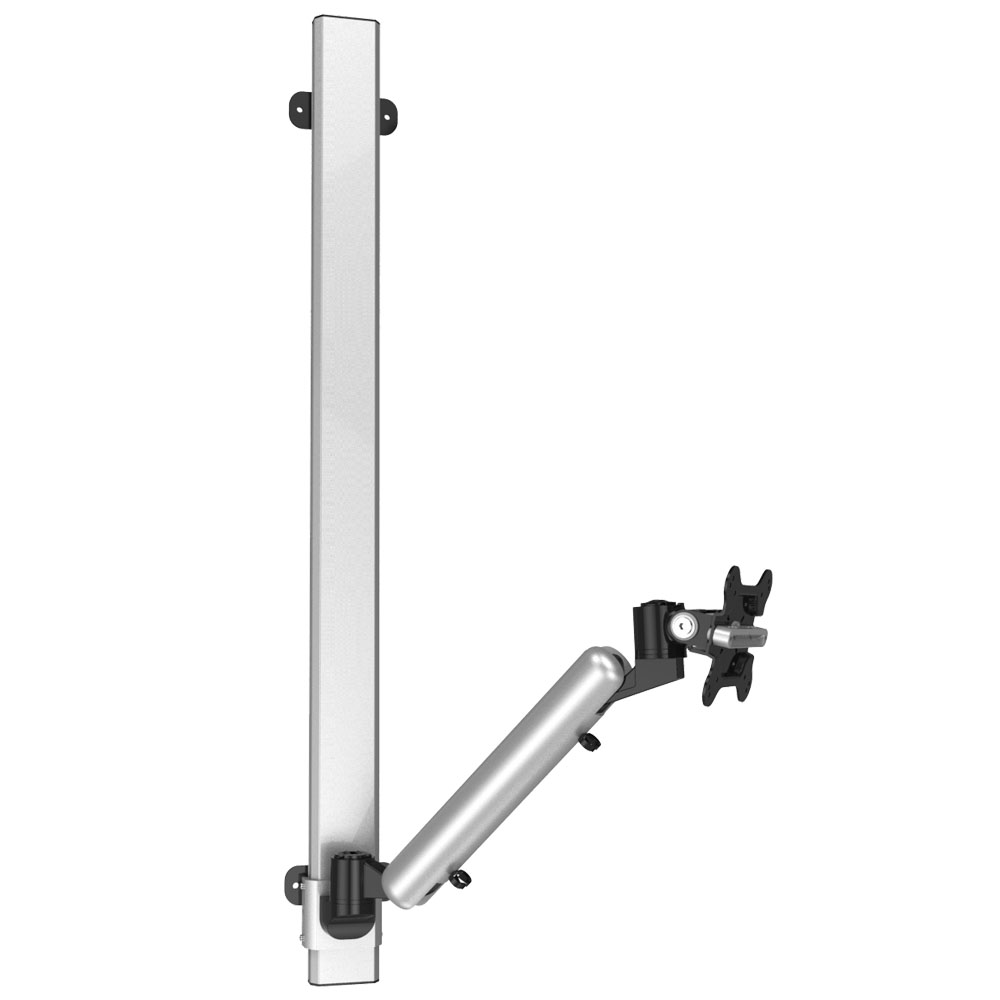 Monitor Wall Mount For Apple Quick Release Spring Arm 2