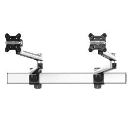Dual Monitor Wall Mount for Apple w/ Quick Release Two Orientations