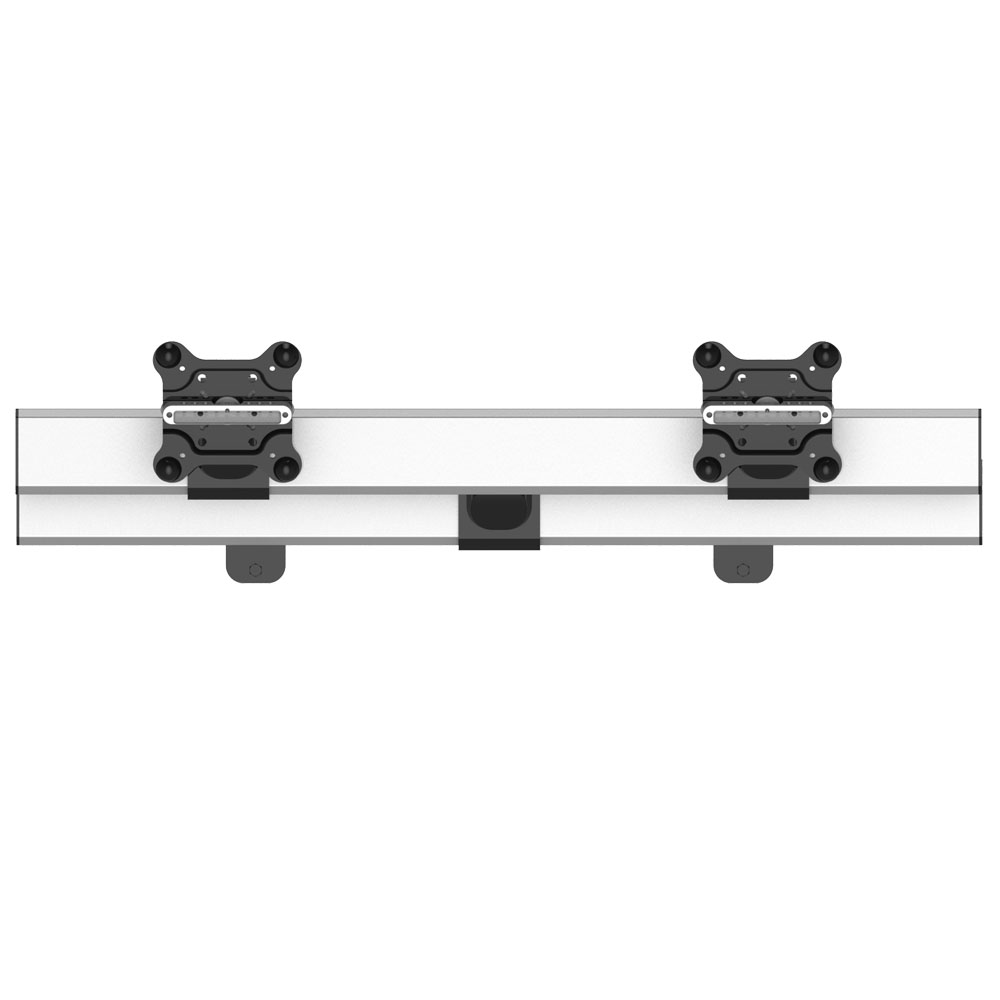 Dual Monitor Wall Mount for Apple Side by Side Quick Release