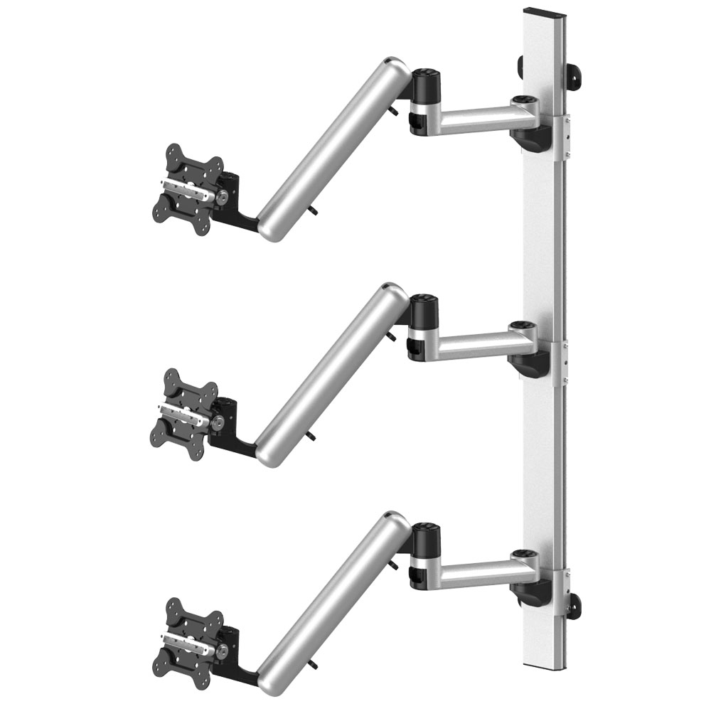 Triple Monitor Wall Mount For Apple Bl Aw74