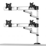 Quad Monitor Stand 2X2 w/ Quick Release & Dual Arm