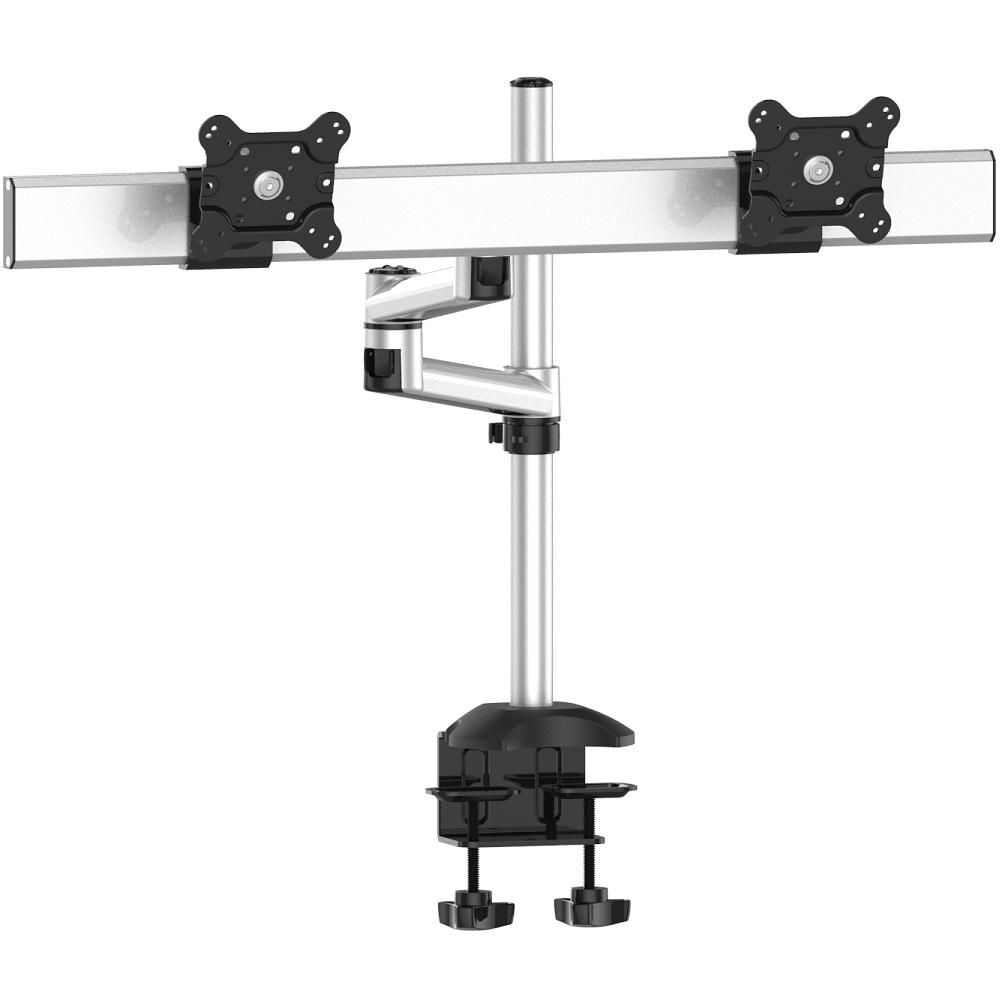 Dual Monitor Stand w/ Quick Release Dual Arm