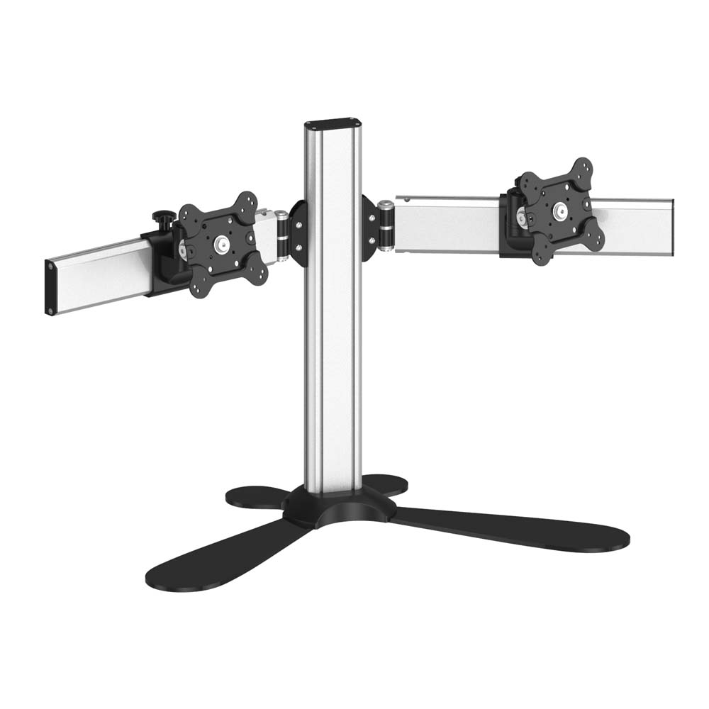 dual monitor stand side by side