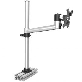 Aluminum Extrusion VESA Mount Quick Release w/ Single Arm