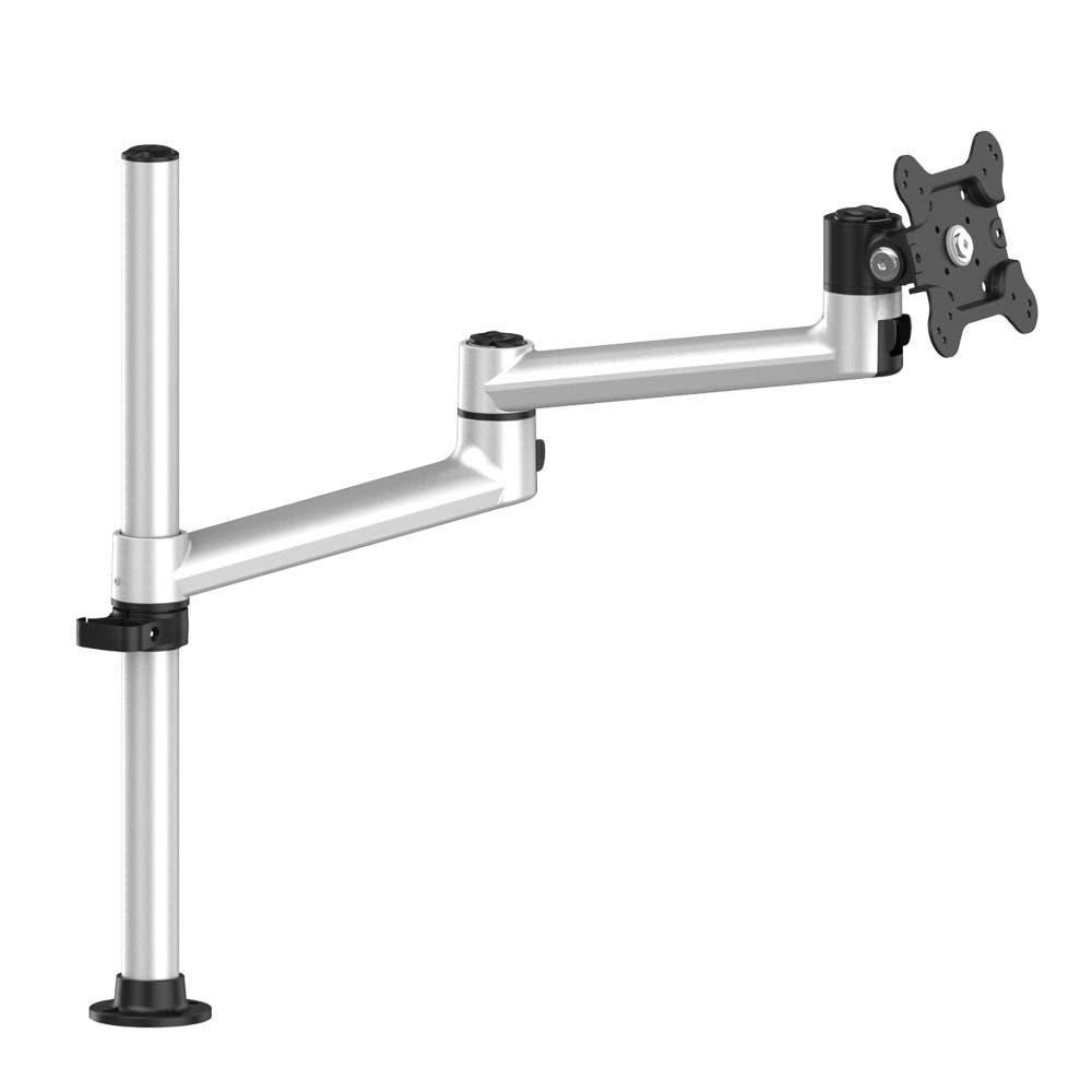Aluminum Extrusion Vesa Mount Quick Release W Dual Arm