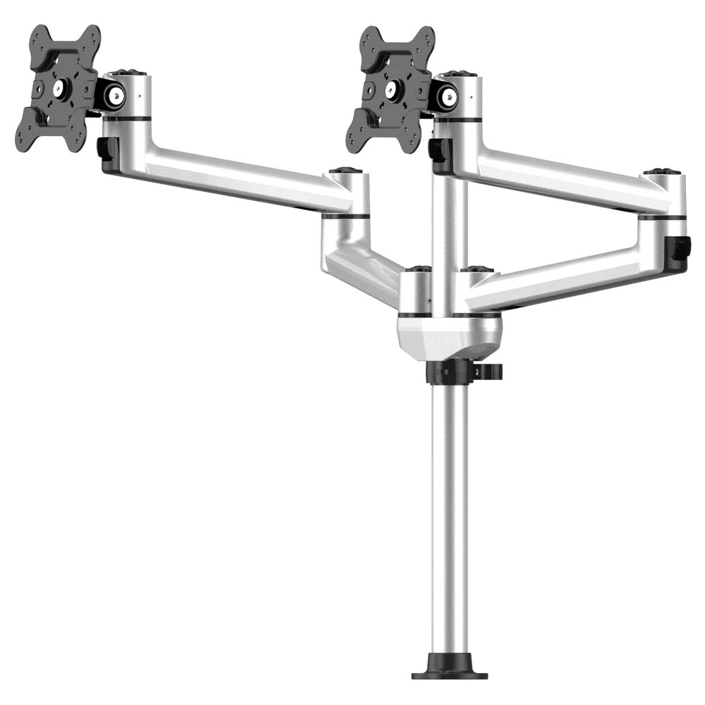 Dual Track Rail Mount Side By Side W Quick Release Dual Arms