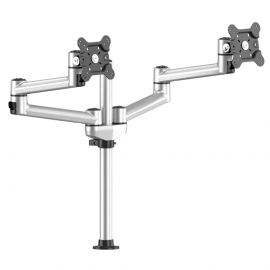 Dual Track Rail Mount Side by Side w/ Quick Release Dual Arms