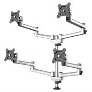 Quad Track Rail Mount 2X2 w/ Quick Release Dual Arms