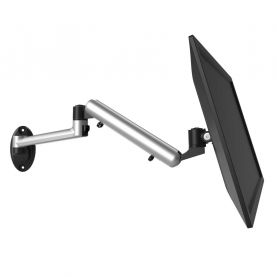 VESA Wall Mount Full Motion w/ Spring Arm & Quick Release
