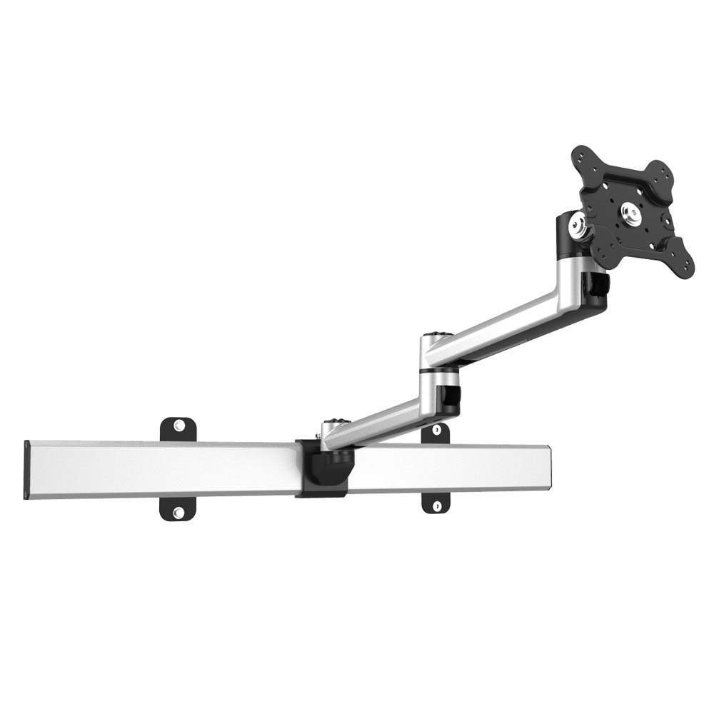 VESA Wall Mount Two Orientations w/ Quick Release & Dual Arm