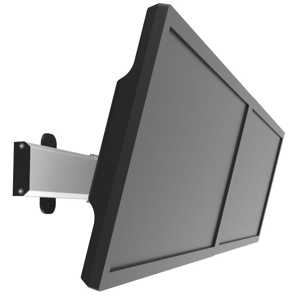 a4b7a2e2de2d Dual VESA Wall Mount Low Profile Quick Release w  Two Orientations