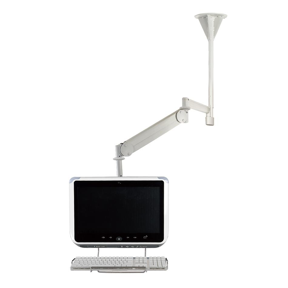 ceiling monitor mount for lcd screen - long reach cm-m25kn