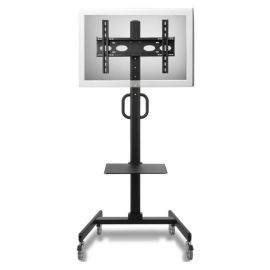 "32 to 52"" TV Cart - Mobile & Rotates for Portrait or Landscape"