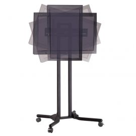 "32 to 56"" TV Cart - Adjustable, Mobile & Ergonomic"