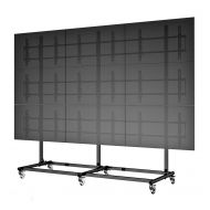 "55"" 3X3 Video Wall Mount w/ Wheels - Micro Adjustable"