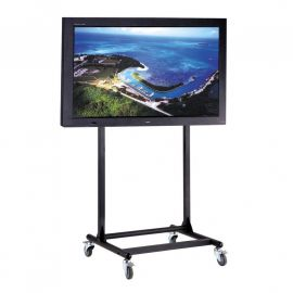 "56 to 70"" TV Cart - Adjustable, Mobile & Ergonomic"