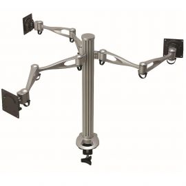 Triple Monitor Stand w/ Full Swing Arms DM-31A2
