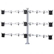 9 Monitor Stand w/ Full Swing Arms