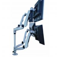 Quad Monitor Stand w/ Spring Arms & Quick Release