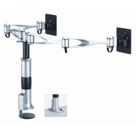 Dual Monitor Arm for Desk - Full Motion DM-D1A2