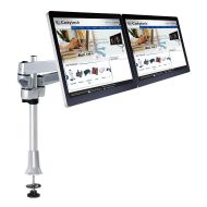 Dual Monitor Desk Mount for Apple w/ Quick Release