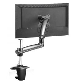Monitor Stand - Expandable w/ Spring Arm Dark Gray