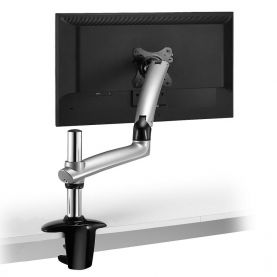 Monitor Stand - Expandable w/ Spring Arm Silver