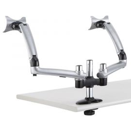 Dual Monitor Desk Mount for Apple w/ Spring Arm DM-GS2A