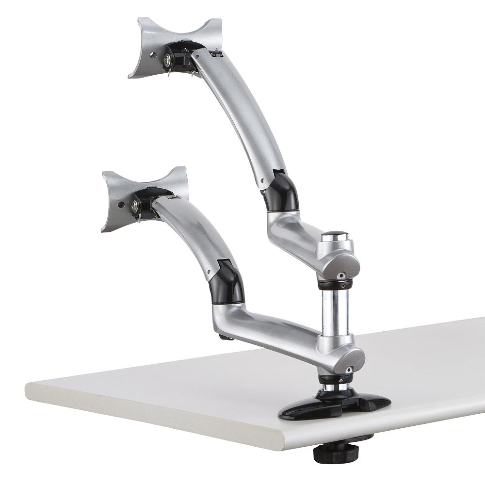 Prime Dual Monitor Desk Mount For Apple W Spring Arm Dm Gsda Home Interior And Landscaping Elinuenasavecom