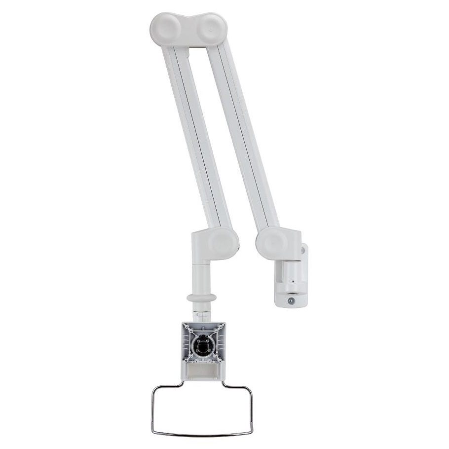 Monitor Arm Long Reach Amp Vertical Adjustable Mw M16p