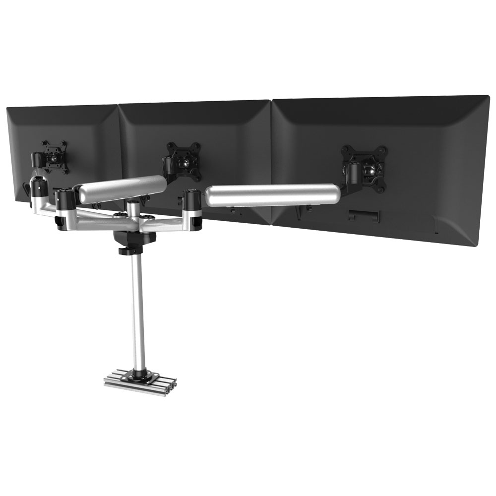 Triple Track Rail Mount w/ Independent Full Motion & Quick Release