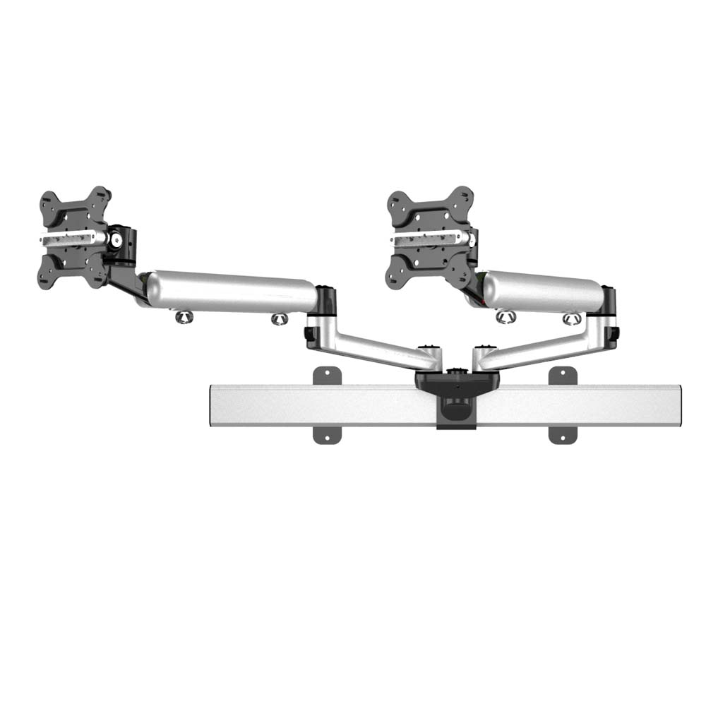 Dual Monitor Wall Mount For Apple Articulating W Quick