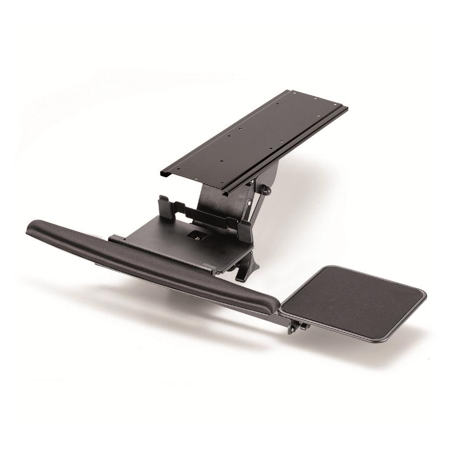 Keyboard Tray - Fully Adjustable w/ Clamp & Lever