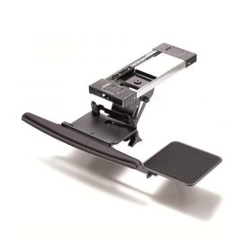 Keyboard Tray - Fully Adjustable w/ Clamp, B-Bearing Lever