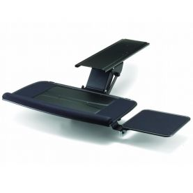 Keyboard Tray - Fully Adjustable w/ Platform & Lever