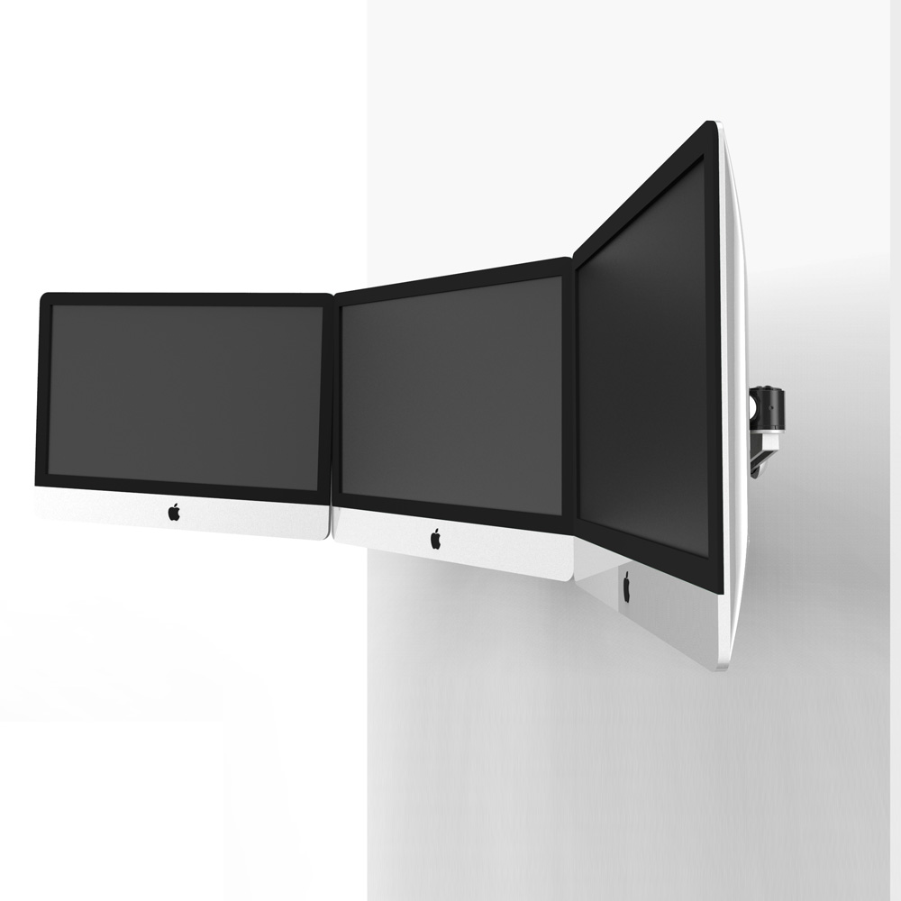 Triple Monitor Wall Mount For Apple Bl Aw51
