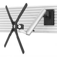 TV Slatwall Mount - Height Adjustable Rotating & Quick Release